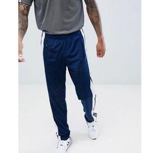 SALE🔥 Vintage Navy Adidas Sweatpant Button Stripe